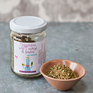 Marjoram, Thyme and Lemon Peel - Vinegar Shed