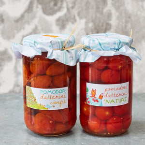 Datterini Tomatoes 'Nature' - Vinegar Shed