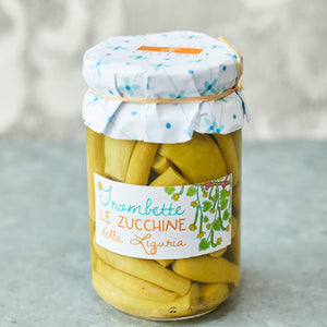 Pickled Trombette Courgettes - Vinegar Shed
