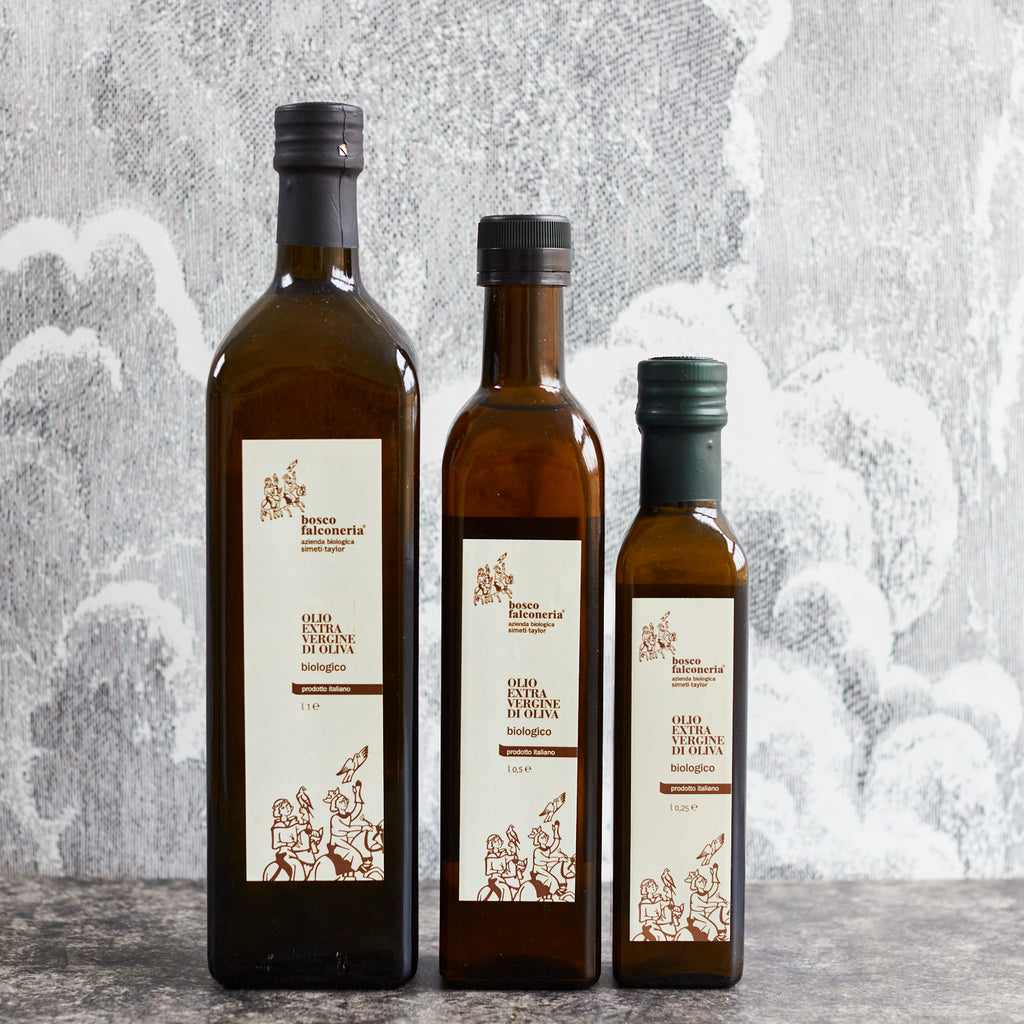 Bosco Falconeria Organic Extra-Virgin Olive Oil - Vinegar Shed