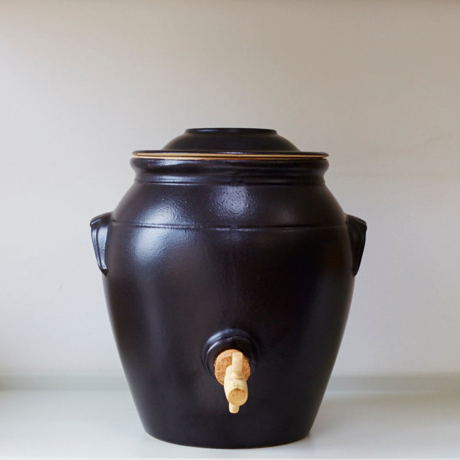 Vinegar Pot - Matt Black - Vinegar Shed