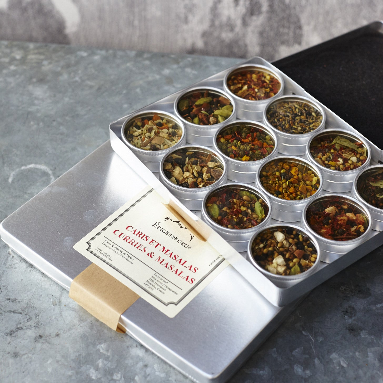 Épices de Cru World Curries & Masalas Spice Kit - Vinegar Shed