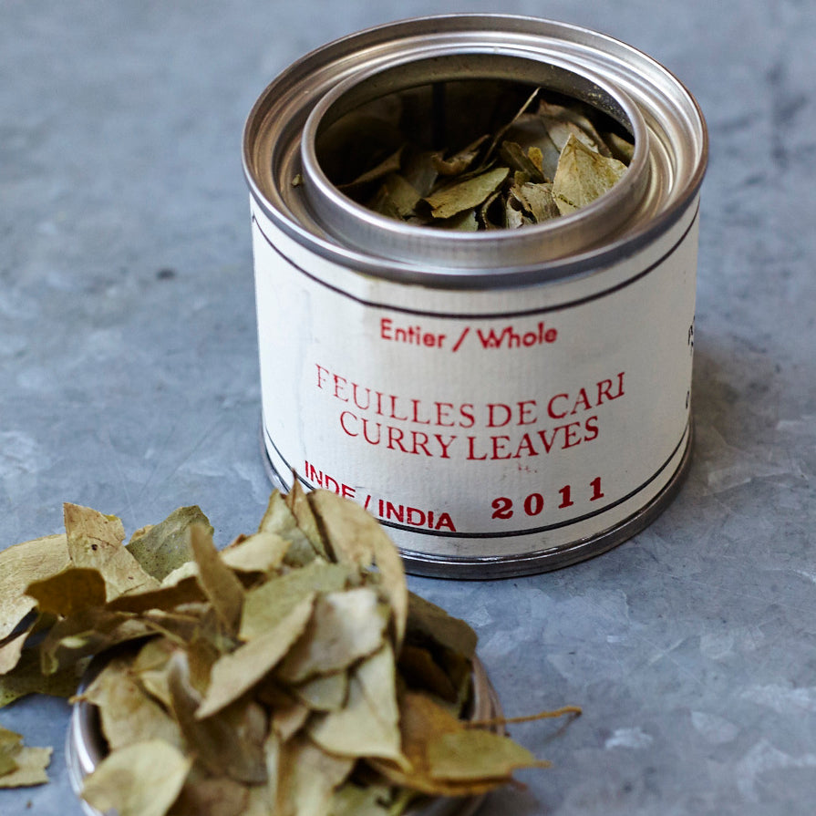 Épices de Cru Curry Leaves - Vinegar Shed