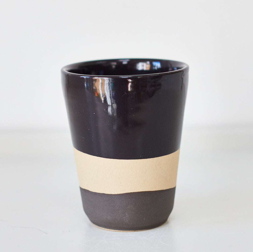 Cups - Dipped Black - Vinegar Shed