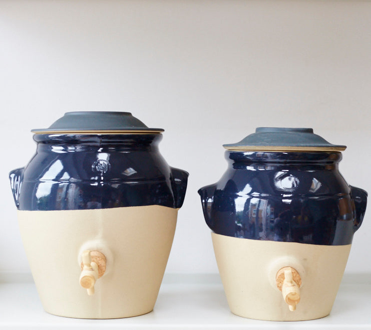 Vinegar Pot - Dark Blue Ink - Vinegar Shed