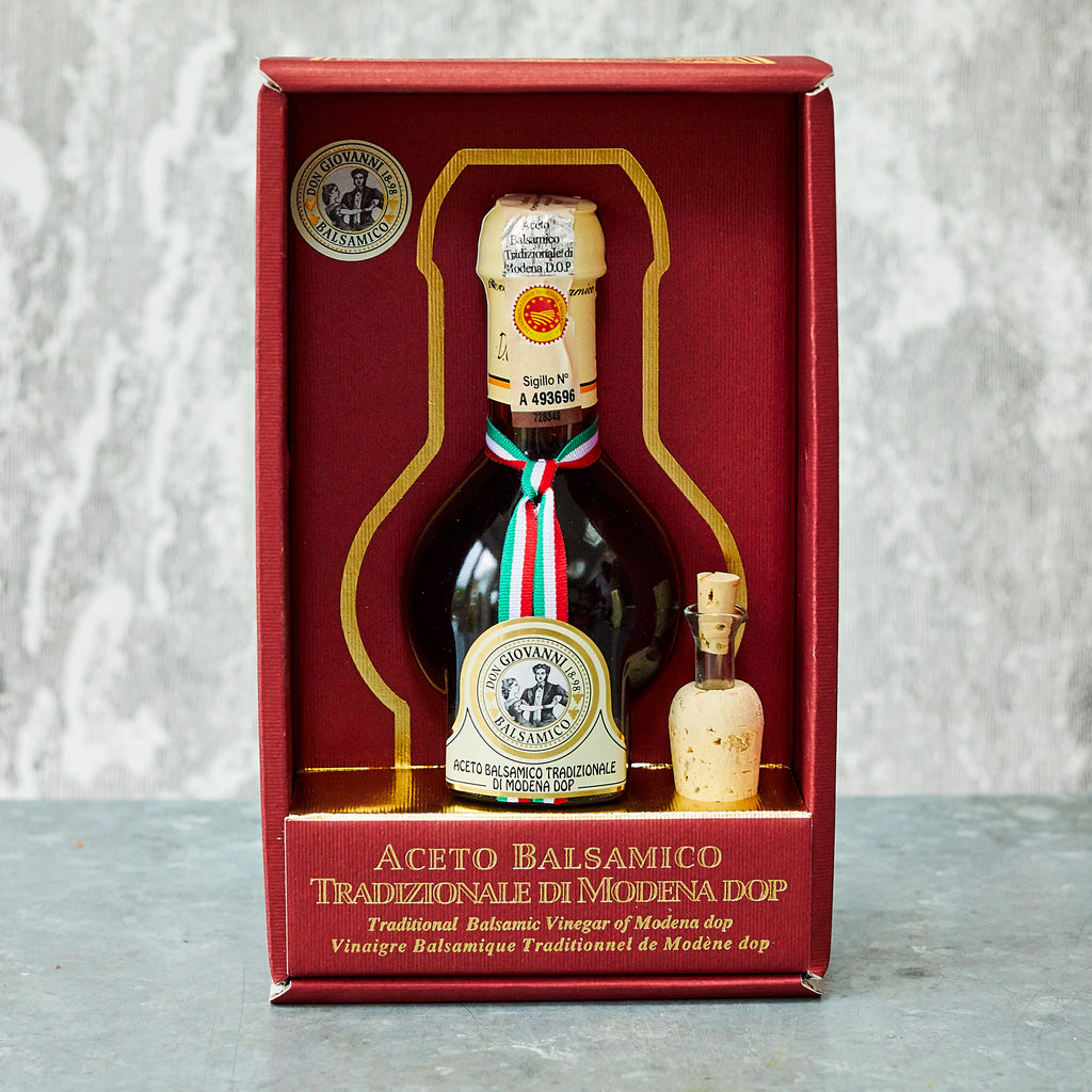 Don Giovanni Traditional Balsamic Vinegar of Modena DOP Affinato (12 years) - Vinegar Shed