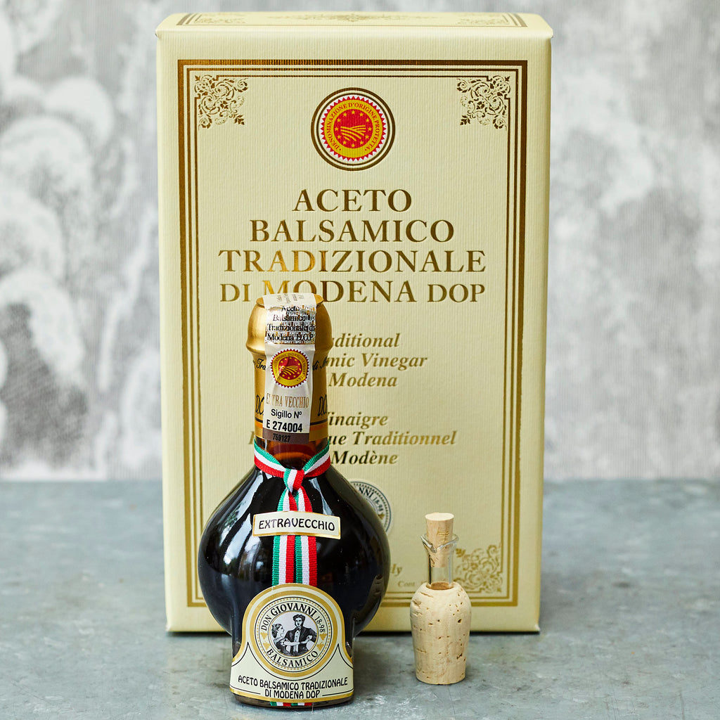 Don Giovanni Traditional Balsamic Vinegar of Modena DOP Extravecchio (25 years) - Vinegar Shed