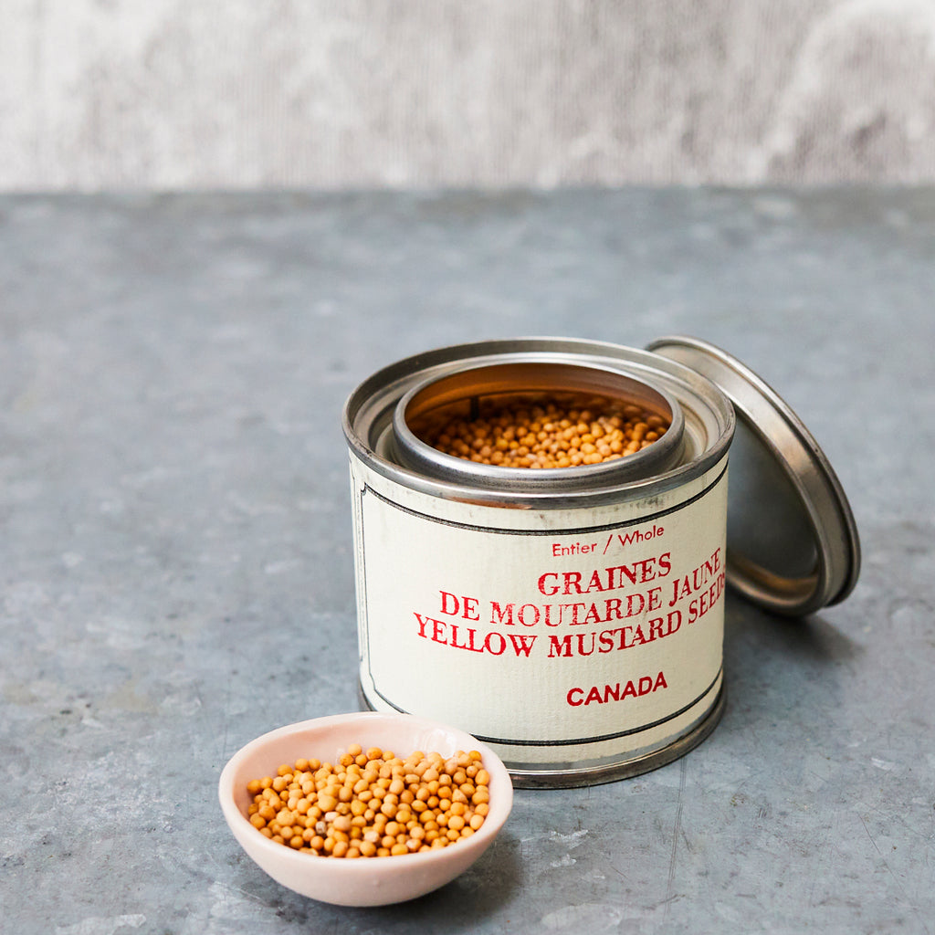 Épices de Cru Yellow Mustard Seeds - Vinegar Shed