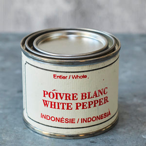 Épices de Cru White Peppercorns - Indonesia - Vinegar Shed