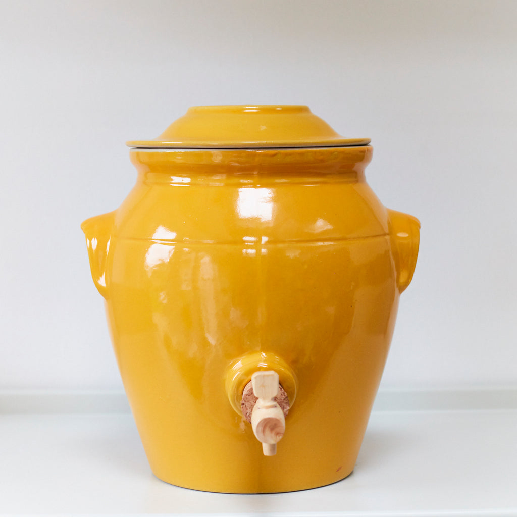 Vinegar Pot - Provence Yellow - Vinegar Shed