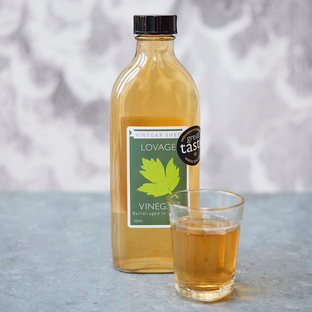 Lovage Vinegar - Vinegar Shed