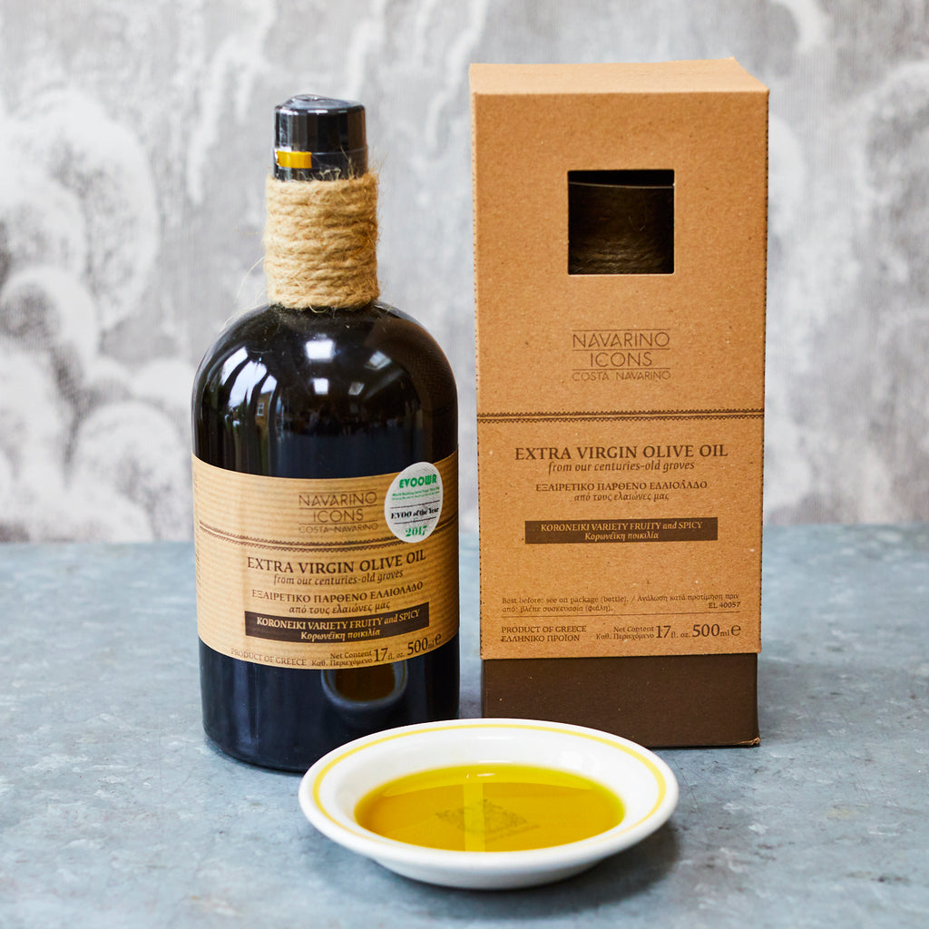 Navarino Icons Extra-Virgin Olive Oil Gift Box - Vinegar Shed