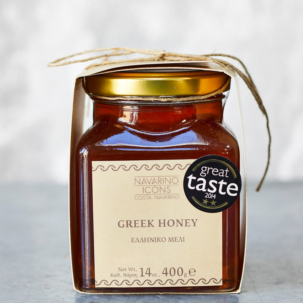 Greek Honey with honeycomb - Vinegar Shed