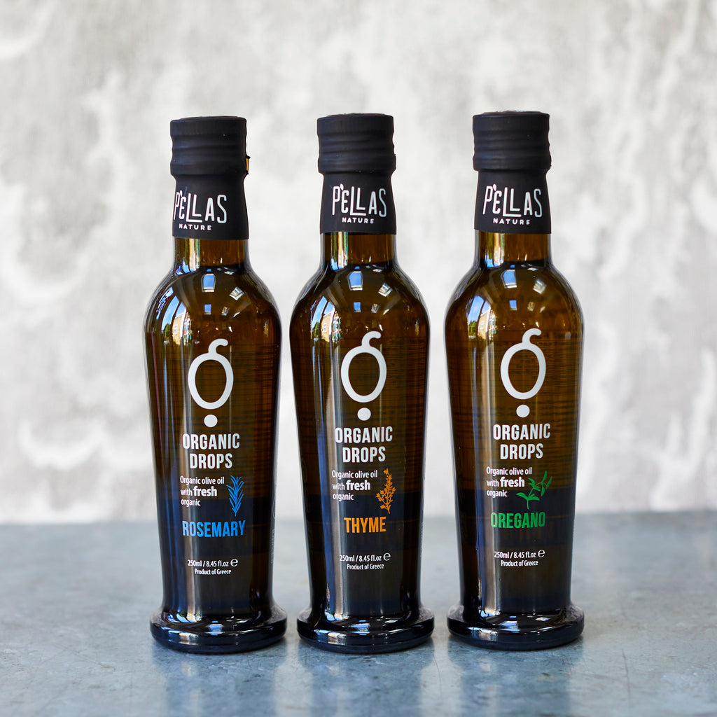 Organic Greek Herbs Olive Oil Kit - Vinegar Shed
