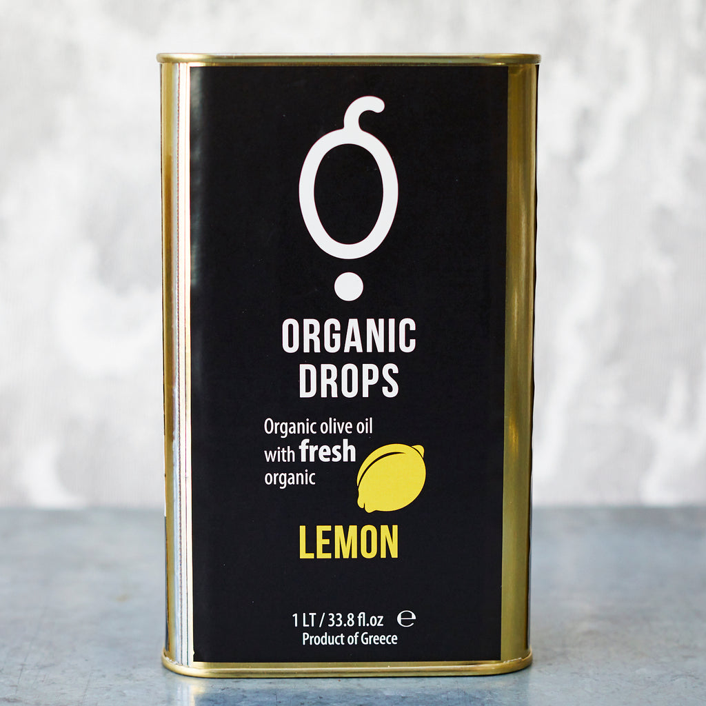 Pellas Organic Drops Lemon Extra-Virgin Olive Oil - Vinegar Shed