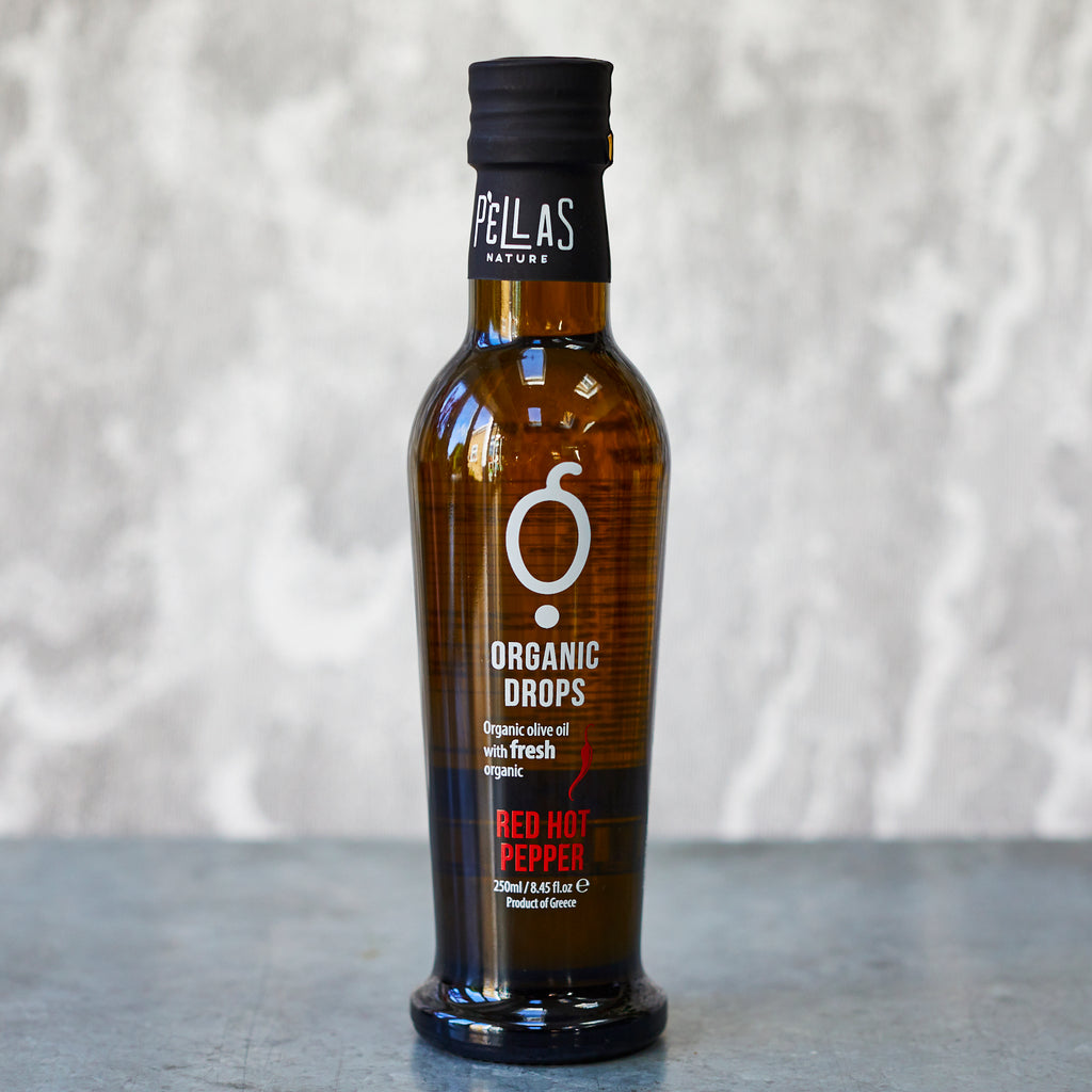 Pellas Organic Drops Chilli Extra-Virgin Olive Oil - Vinegar Shed