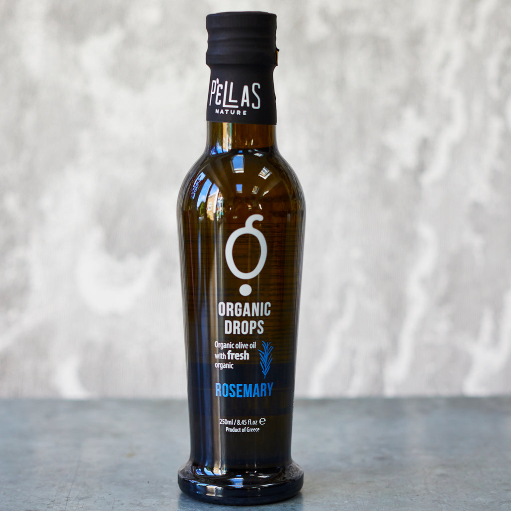 Pellas Organic Drops Rosemary Extra-Virgin Olive Oil - Vinegar Shed