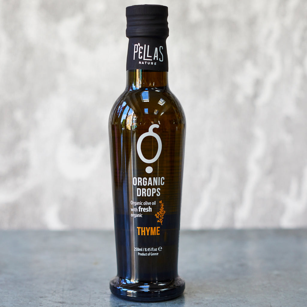 Pellas Organic Drops Thyme Extra-Virgin Olive Oil - Vinegar Shed