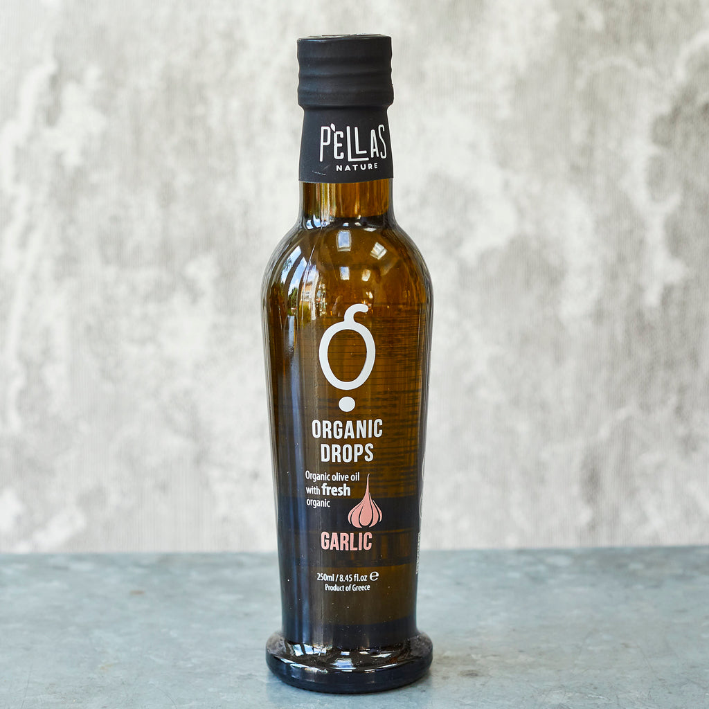 Pellas Nature Organic Drops Garlic Olive Oil - Vinegar Shed