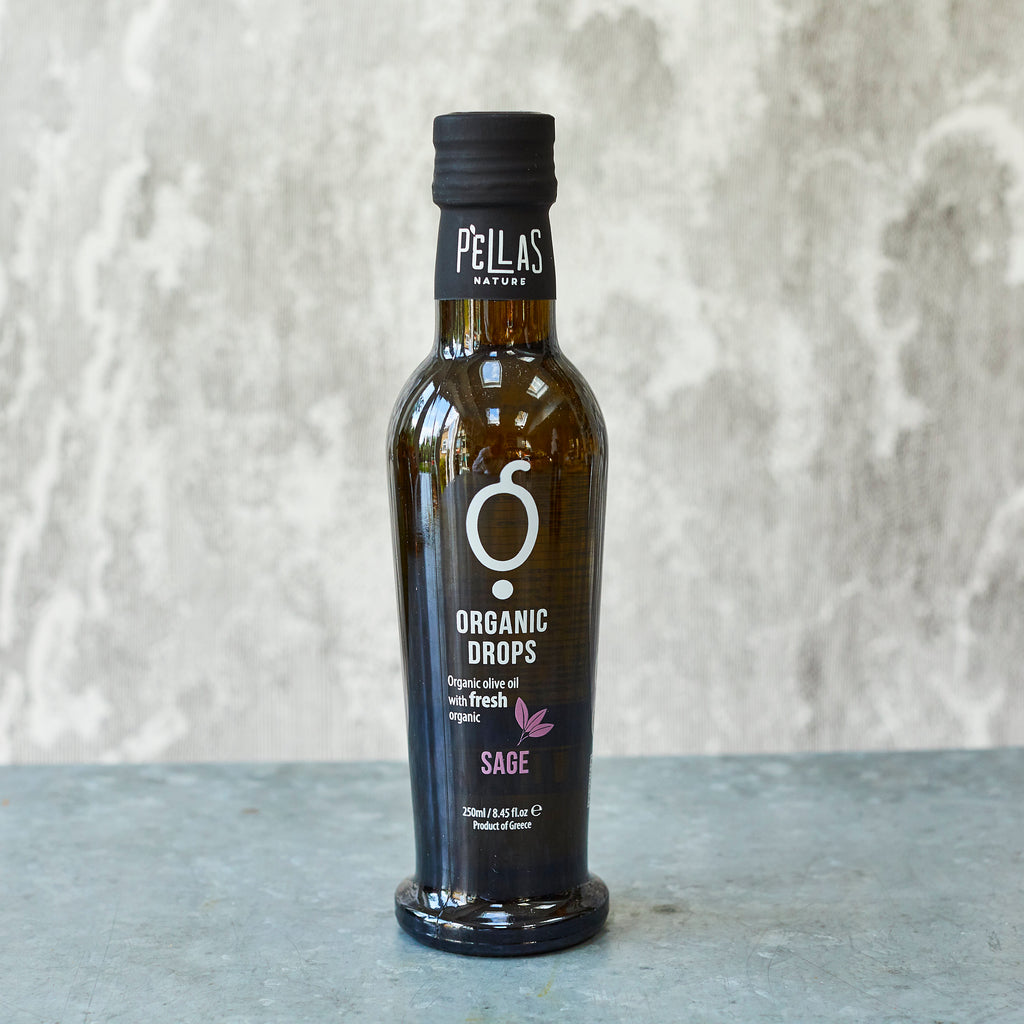 Pellas Organic Drops Sage Extra-Virgin Olive Oil - Vinegar Shed