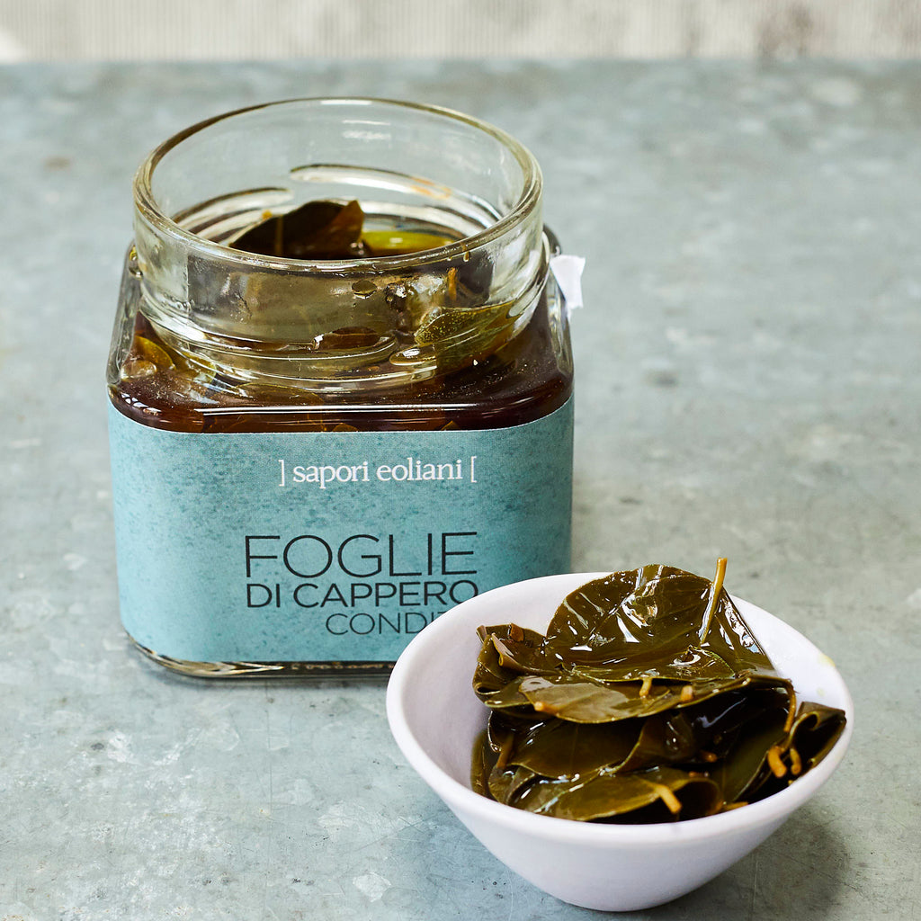 Caper Leaves in Extra-Virgin Olive Oil - Vinegar Shed