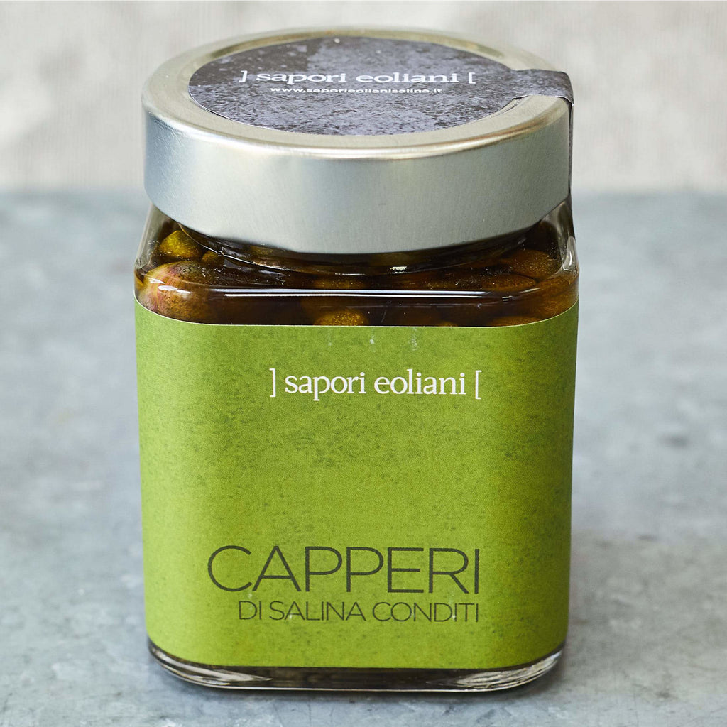 Capers with Chilli, Oregano and Extra-Virgin Olive Oil - Vinegar Shed