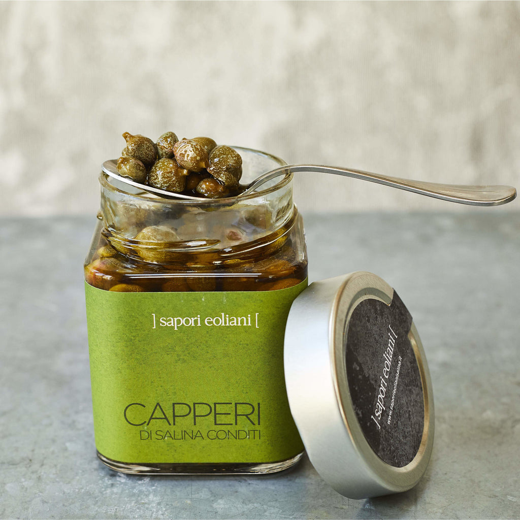 Capers & Caper Leaves in Extra-Virgin Olive Oil - Vinegar Shed