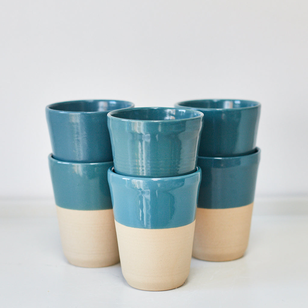Cups - Teal - Vinegar Shed