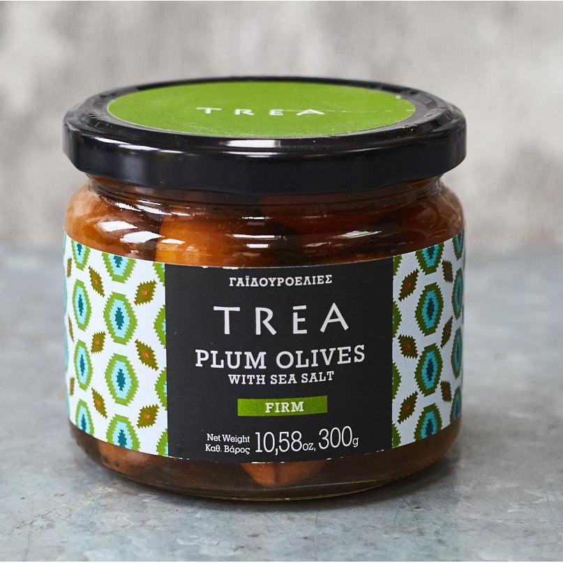 Plum Olives with Sea Salt - Vinegar Shed