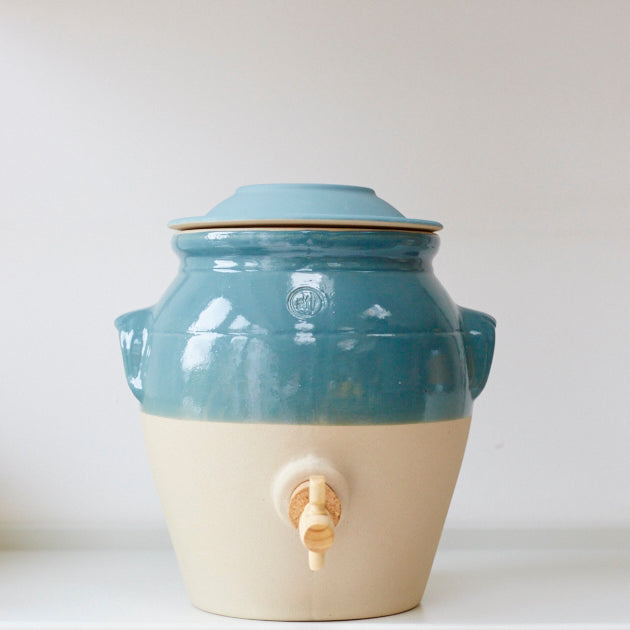 Vinegar Pot - Teal - Vinegar Shed