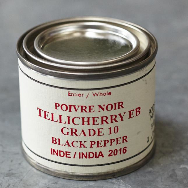 Épices De Cru Tellicherry EB Grade 10 Black Pepper - Vinegar Shed