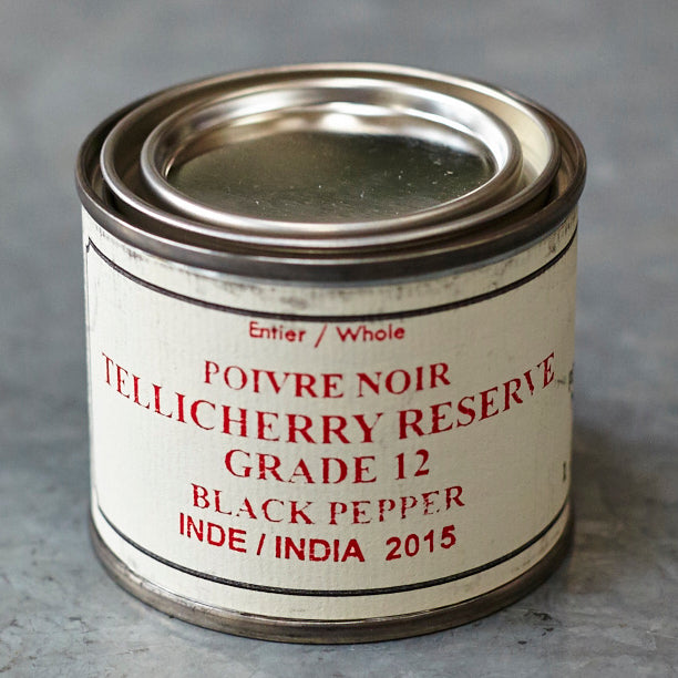 Épices de Cru Tellicherry Reserve Grade 12 Black Pepper - Vinegar Shed