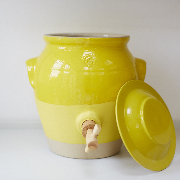 Vinegar Pot - Mustard Yellow - Vinegar Shed