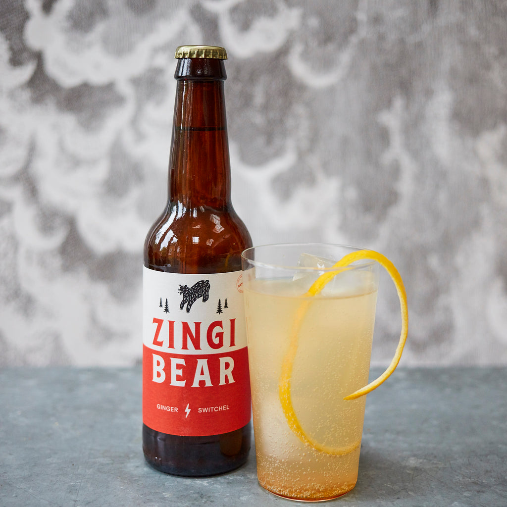 Zingi Bear Switchel - Vinegar Shed