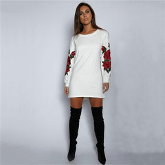 MIA& DRESSES FLORAL EMBROIDERY Dress