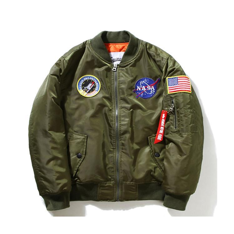 MIA& JACKET NASA PILOT Bomber Jacket