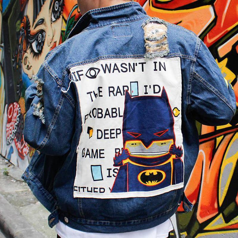 MIA& JACKETS BATMAN Denim Jacket