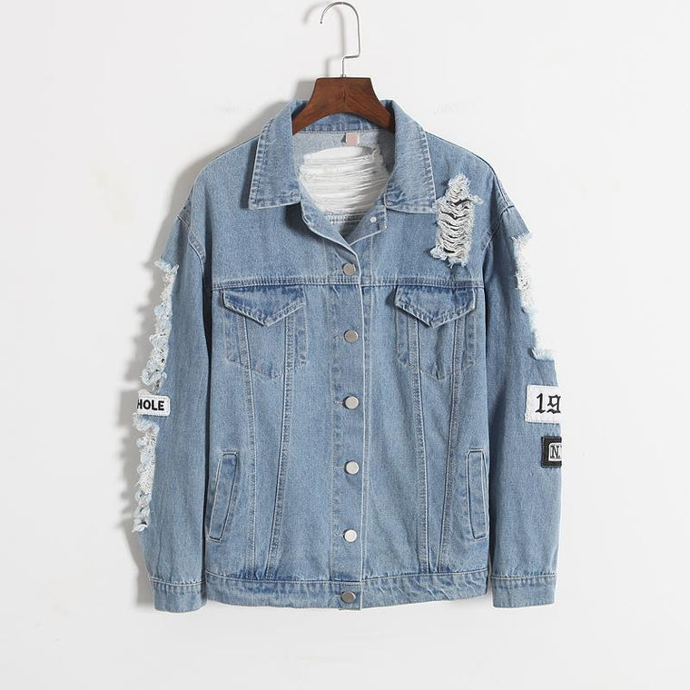 MIA& JACKETS WHERE IS MY MIND Denim Jacket