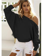 MIA& SWEATER Black / S JUMPY SLEEVE Sweater
