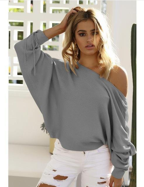 MIA& SWEATER Gray / S JUMPY SLEEVE Sweater