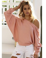 MIA& SWEATER Pink / S JUMPY SLEEVE Sweater