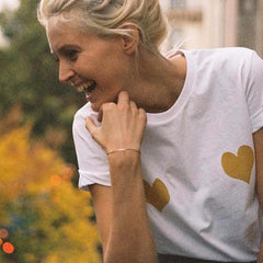 MIA& TEE TWO HEARTS Tee