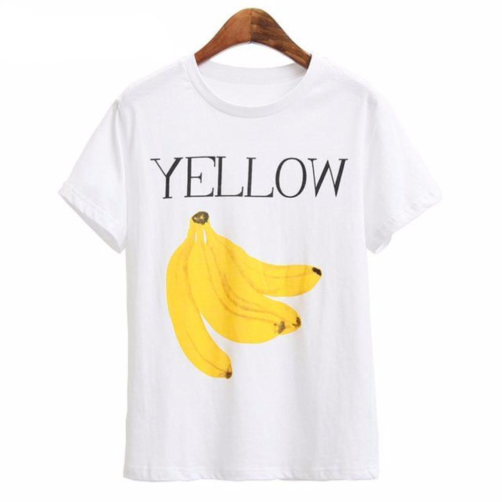 MIA& TEE Yellow / S YELLOW FRUITS Tee