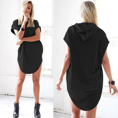 MIA& TOP HOODED-TEE Dress