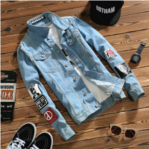 Hippie Patch Jean Jacket