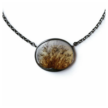 Thicket Dendritic Agate Necklace