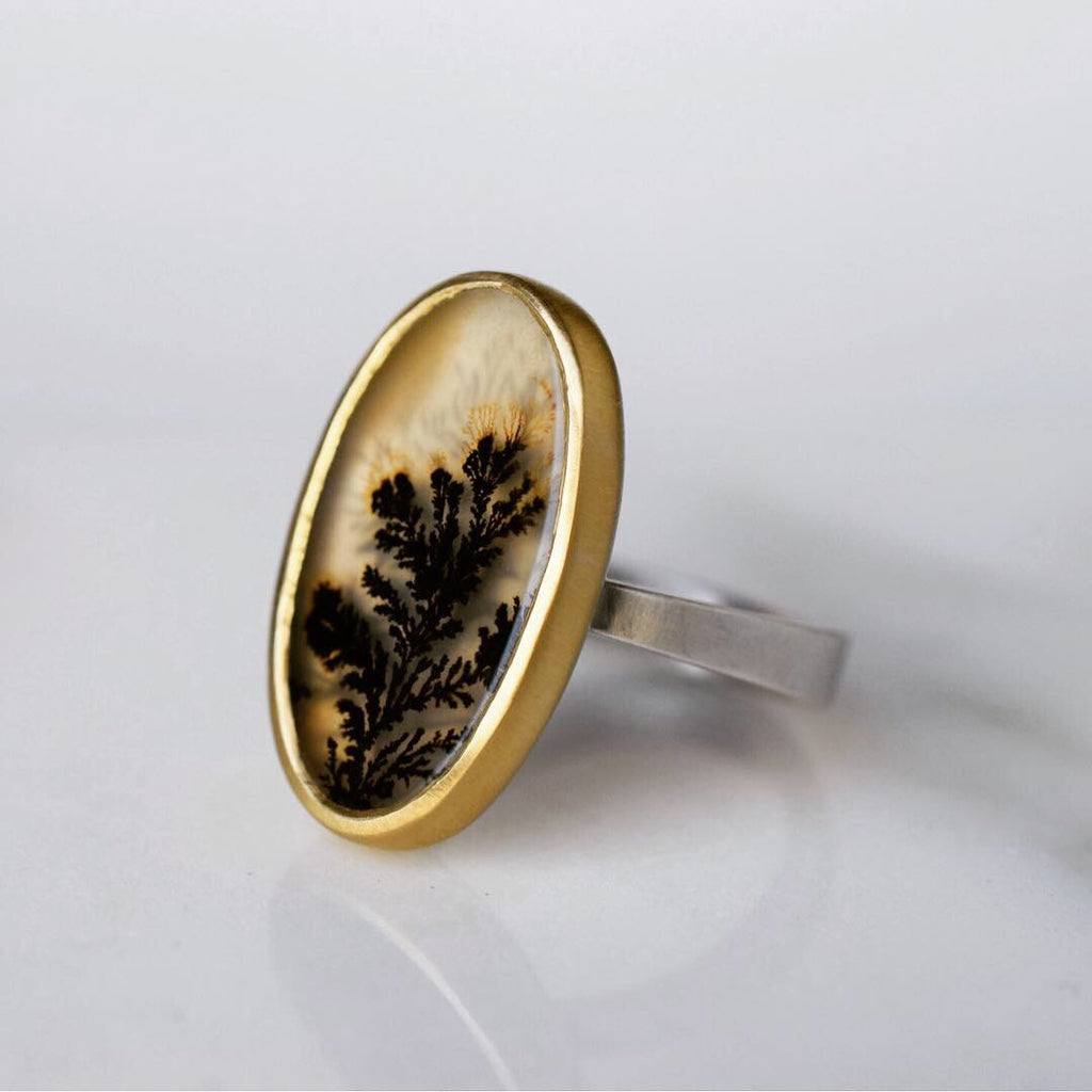 Black and Gold Afterimage Ring