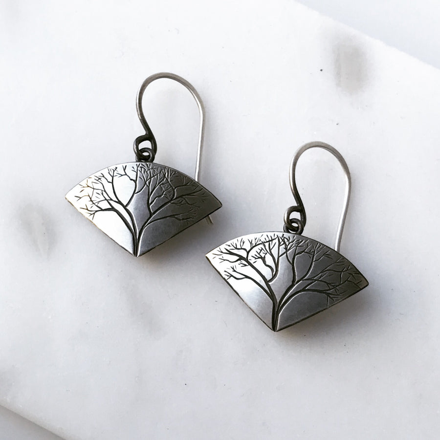 Large Branch Earrings