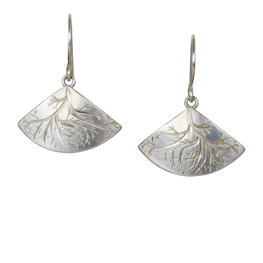 Silver Roots Earrings