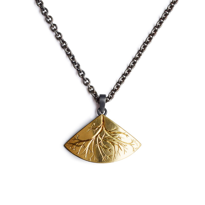 Gold and Silver Roots Necklace